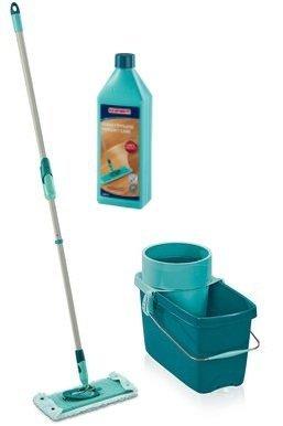 Mop obrotowy Leifheit Clean Twist M 33 cm + Płyn do parkietu | 52014/41416