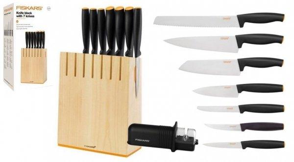 Noże Fiskars 1018781 Functional Form | 7 noży + ostrzałka