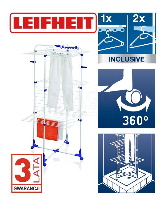 Suszarka do ubrań Leifheit 81455 Tower 340