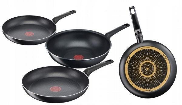 Patelnia 24/28/WOK Tefal Simple Cook ZESTAW B55604/B55606/B55619