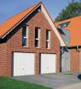 Brama uchylna N 80, 2500 x 2075, Wzór 904 Okrągłe profile Ø 12 mm, Odstęp 100 mm, kolor do wyboru