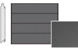 Brama LPU 42, 2440 x 2080, Przetłoczenia L, Decograin, Titan Metallic CH 703