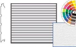 Brama LTE, 2250 x 2000, Przetłoczenia S, Woodgrain, kolor do wyboru