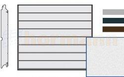 Brama LPU 42, 2315 x 2205 Przetłoczenia M, Sandgrain, kolor do wyboru