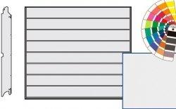 Brama LPU 42, 2375 x 2250 Przetłoczenia M, Silkgrain, kolor do wyboru