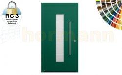 Drzwi aluminiowe ThermoSafe, Wzór 504, kolor do wyboru, przeciwwłamaniowe RC 3