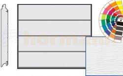 Brama LPU 42, 2250 x 2125, Przetłoczenia L, Woodgrain, kolor do wyboru