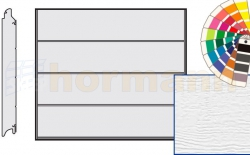 Brama LPU 42, 2750 x 2250 Przetłoczenia L, Woodgrain, kolor do wyboru