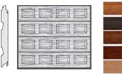 Brama LPU 42, 3000 x 2375, Kasetony S, Decograin, okleina drewnopodobna