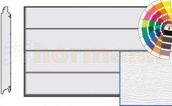 Brama LPU 42, 2500 x 2750, Przetłoczenia L, Woodgrain, kolor do wyboru
