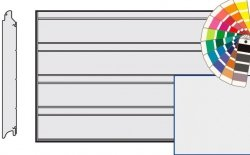 Brama LPU 42, 6000 x 2250, Przetłoczenia D, Silkgrain, kolor do wyboru