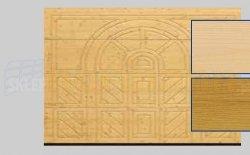 Brama LTH, 5000 x 2125, Wzór 404, Świerk