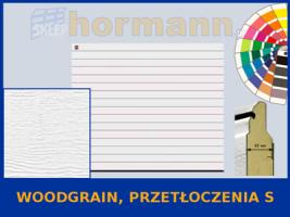WZÓR: Woodgrain, Przetłoczenia S