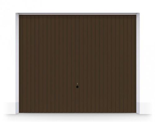 WYPRZEDAŻ bram uchylnych N80 w kolorze brązowym