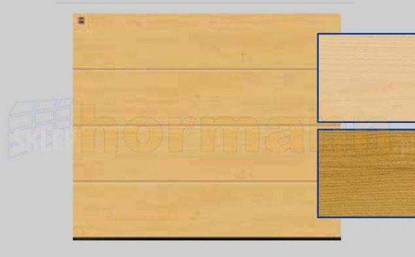 Brama LTH, 2500 x 2125, Przetłoczenia L, Świerk
