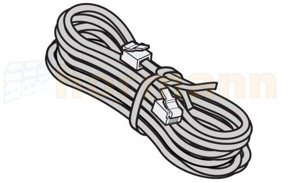 Przewód systemowy, 4-żyłowy z wtyczką systemową, szer. bramy do 2300 mm, dł. przewodu 3000 mm