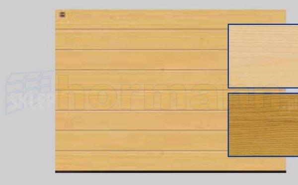 Brama LTH, 5000 x 2125, Przetłoczenia M, Świerk