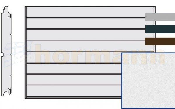 Brama LPU 42, 5000 x 2250, Przetłoczenia M, Sandgrain, kolor do wyboru