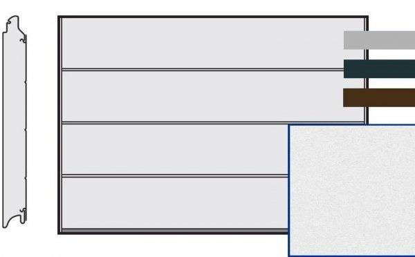 Brama LPU 42, 5000 x 2250, Przetłoczenia L, Sandgrain, kolor do wyboru