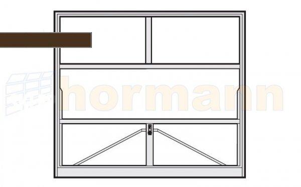 Brama uchylna N 80, 2375 x 1920, Wzór 905 do wypełnienia
