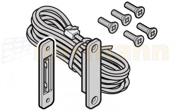 Wyłącznik krańcowy drzwi w bramie, długość przewodu: 6400 mm, dla bram produkowanych do 31.12.2011 r.