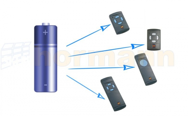 Bateria 12 V L 1028 typ 23 A (do HS 1, HS 4, HSM 4, i HSS 4)