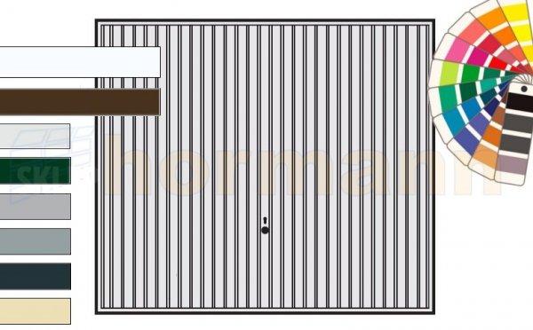 Brama uchylna N 80, 2250 x 1920, Wzór 902, kolor do wyboru