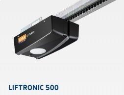 ZESTAW: napęd Liftronic 500 (siła 500 N, do 7 m2) + szyna średnia FS 33 + dwa piloty RSC 2