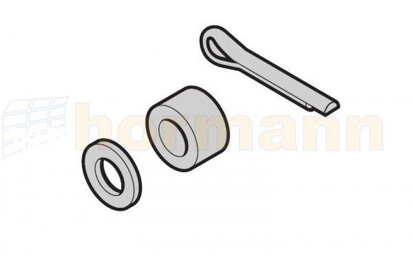 Zestaw: pierścień dystansowy 1 szt., prowadzenie N, L, BL, H