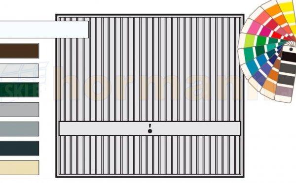 Brama uchylna N 80, 3000 x 2125, Wzór 941, kolor do wyboru