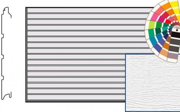 Brama LTE, 5000 x 2125, Przetłoczenia S, Woodgrain, kolor do wyboru