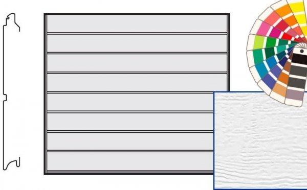 Brama LTE, 2500 x 2000, Przetłoczenia M, Woodgrain, kolor do wyboru