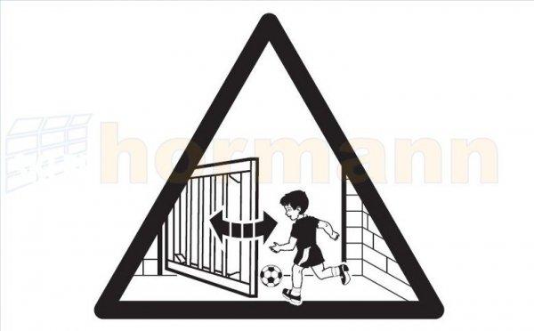 Tabliczka ostrzegawcza do Portronic D 5000 / D 2500