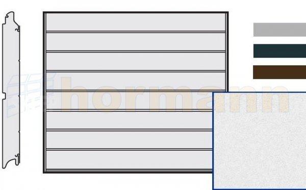 Brama LPU 42, 2440 x 1955, Przetłoczenia M, Sandgrain, kolor do wyboru