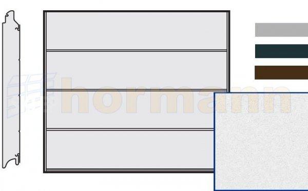 Brama LPU 42, 2500 x 2000, Przetłoczenia L, Sandgrain, kolor do wyboru
