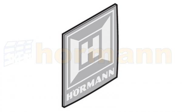 Tabliczka z logo Hörmann