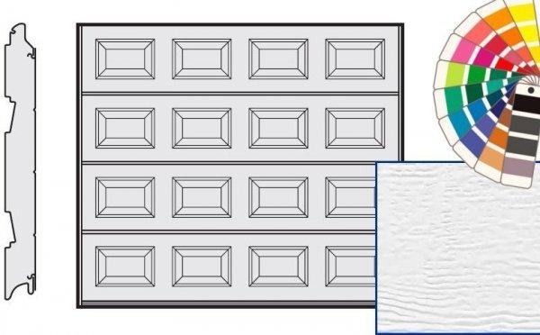 Brama LPU 42, 2375 x 2125, Kasetony S, Woodgrain, kolor do wyboru