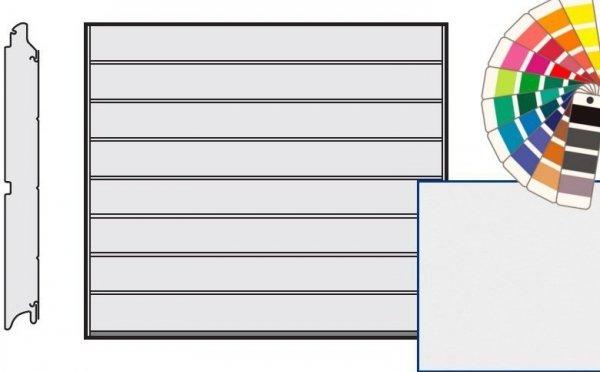 Brama LPU 42, 2440 x 1955, Przetłoczenia M, Silkgrain, kolor do wyboru