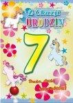 Kartka Z okazji urodzin 7