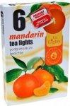 PODGRZEWACZ 6 SZTUK TEA LIGHT Mandarin
