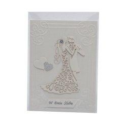 Kartka W Dniu Ślubu, para