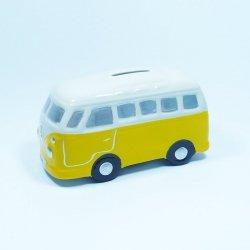 Skabonka Bus. kolor żółty