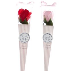 Róża w opakowaniu, mix kolorów, 30 cm