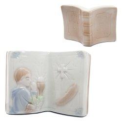 Figurka komunijna ceramiczna