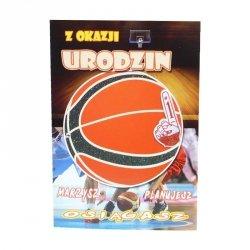 Kartka Z Okazji Urodzin, piłka do koszykówki
