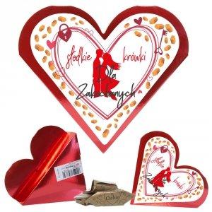 Serce słodkie krówki Dla Zakochanych