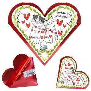 Serce herbatka kwiatowa Love