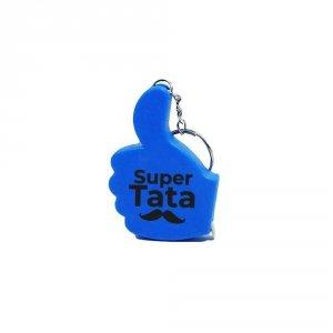 Metrówka z napisem Super Tata