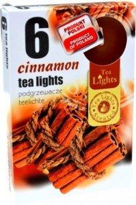 PODGRZEWACZ 6 SZTUK TEA LIGHT Cinnamon