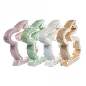 Królik ceramiczny 22x4x19 cm, mix kolorów